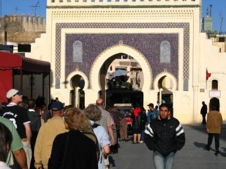 Fes - Blaues Tor Bab Bou Jeloud