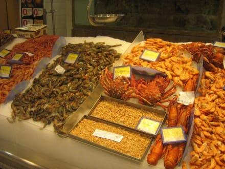 Fischmarkt in Almeria - Fischmarkt