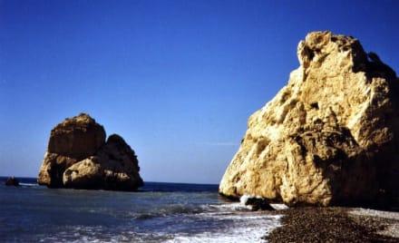 Zwischen Kouklia und Pissouri Geburtsstätte der Aphrodite - Geburtsort der Aphrodite - Petra Tou Ramiou