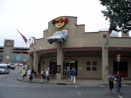 Außenansicht HRC Niagara Falls - Hard Rock Cafe