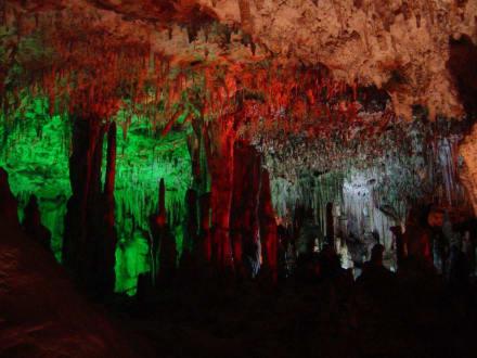 Hams-Tropfsteinhöhle - Coves dels Hams / Hams Höhlen