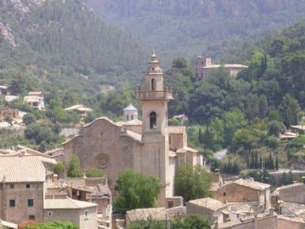 Blick auf das Kloster - Kartause von Valldemossa