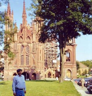 Die St. Anna-Kirche in Vilnius - St. Anna Kirche