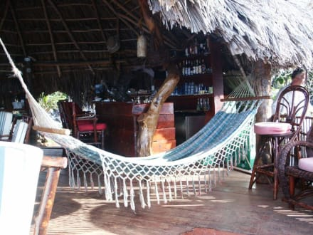 Hängematte im Restaurant - El Cabito-Bar