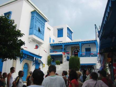 Café in Sidi Bou Said - Künstlerdorf Sidi Bou Saïd