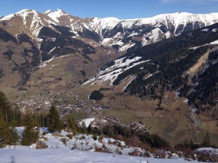 Blick ins Tal - Skigebiet Rauris