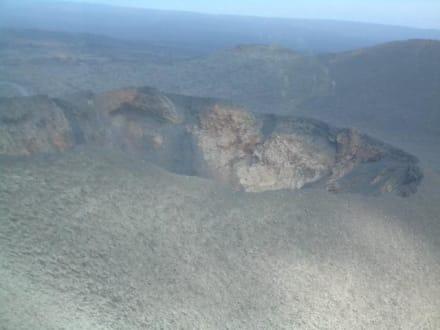 Vulkan Timanfaya - Nationalpark Timanfaya (Feuerberge)