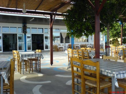 Die Terrasse des Mimakos - Taverne Mimakos