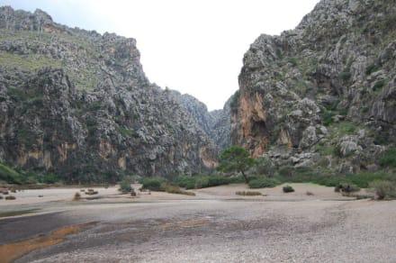 Fantastische Sicht - Bucht Sa Calobra / Torrent de Pareis
