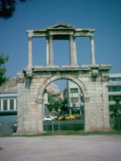 Der Hadriansbogen - Zentrum Athen