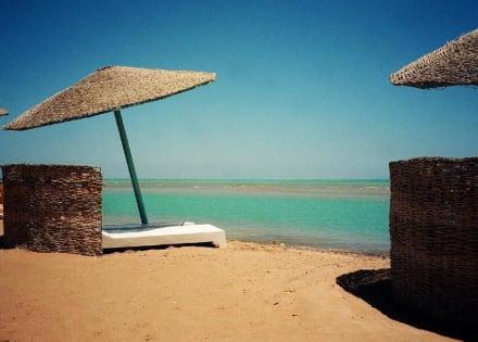 Der Strand von EL Gouna - Strände El Gouna
