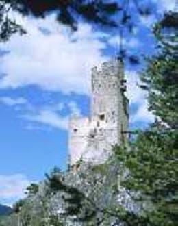 Ruine Schrofenstein - Burgruine Schrofenstein