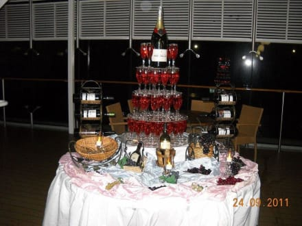Mitternachtsbuffet - MSC Opera