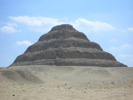 Die Stufen Pyramide von Sakkara - Nekropole von Sakkara