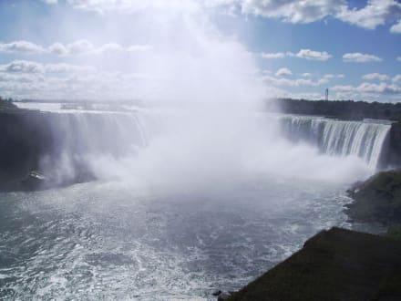 Die kanadische Seite der Niagara Fälle - Niagarafälle / Horseshoe Falls