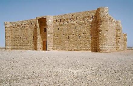 Qasr Kharana, - Wüstenschloss Qasr Kharaneh