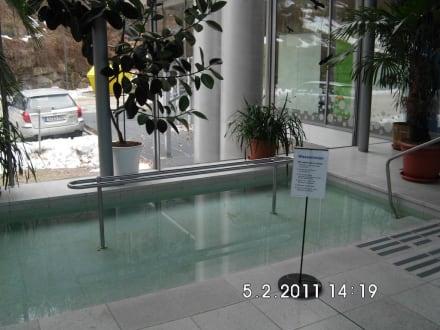 Angebot zum Wassertreten - Albert Bad