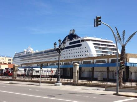 Die Opera vor Cadiz Spanien - MSC Opera