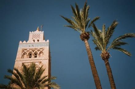 Die Farben von Marrakech - Koutoubia Moschee