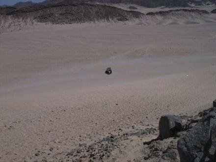 Von oben gesehen - Wüste
