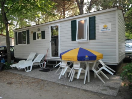mobilheim standard bild camping union lido in cavallino. Black Bedroom Furniture Sets. Home Design Ideas