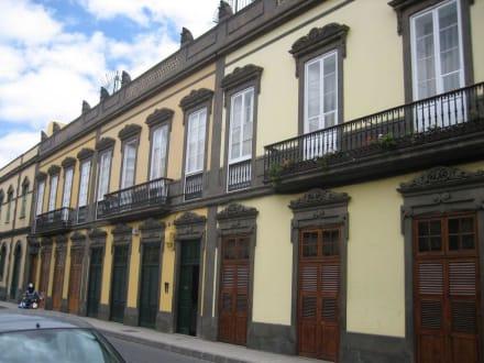 Straßenzug in der Altstadt - Altstadt Las Palmas/Vegueta