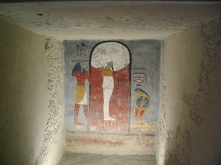 Die Grabkammer von Ramses dem 1 - Tal der Könige