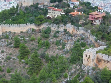 Burgmauer - Burg von Alanya  (Ic Kale)