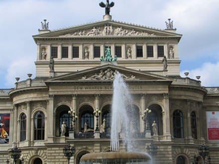 Alte Oper - Platz vor der Alten Oper
