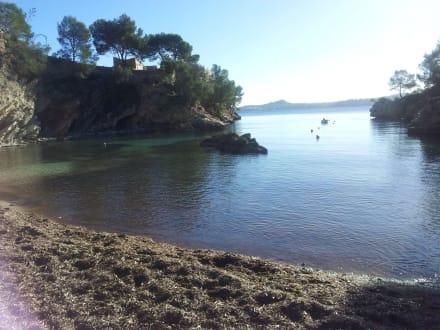 Verträumte Bucht Petit Cala Fornell - Bucht von Cala Fornells