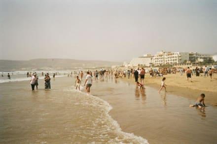 Rush-hour am Strand von Agadir - Strand Agadir