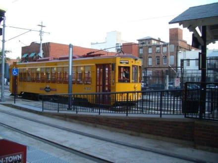 Srtaßenbahn in Ybor City - Ybor City