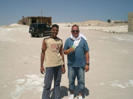 Mohammed, toller Reiseführe - Quad Tour El Gouna