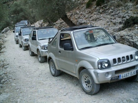 Unsere Jeepsafari führte uns durch das Tramuntanag - Serra de Tramuntana