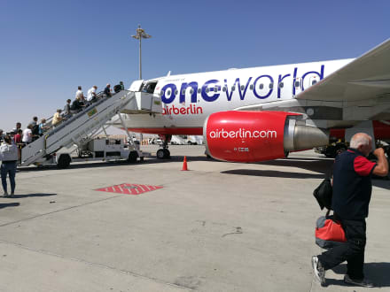 Letztes Mal AB - Flughafen Hurghada (HRG)