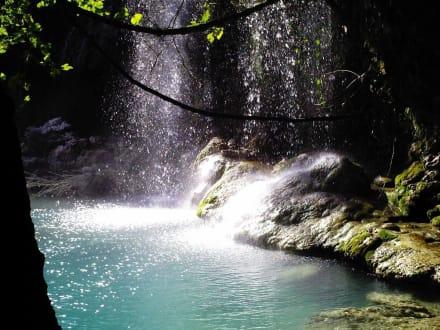 Wasserfall bei Antalya - Oberer Düden Wasserfall