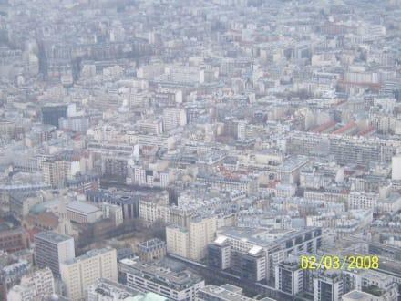 Ausblick vom Eiffelturm - Eiffelturm