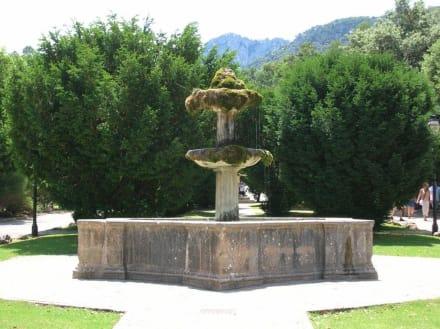 Brunnen auf dem Gelände des Kloster Luc - Santuari de Lluc