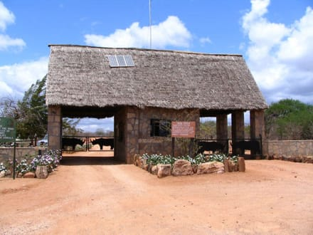 Tsavo Gate - Tsavo West Nationalpark