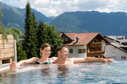 Einfach herrlich, Wasser und die umliegende Natur - Hotel Cervosa