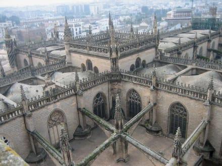 Giraldar - über den Dächern der Kathedrale - Kathedrale von Sevilla
