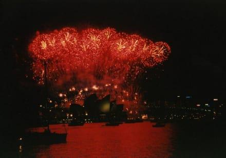 Sylvester - Feuerwerk zum Jahreswechsel