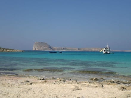 Bucht von Balos/Gramvoussa - Strand Gramvoussa