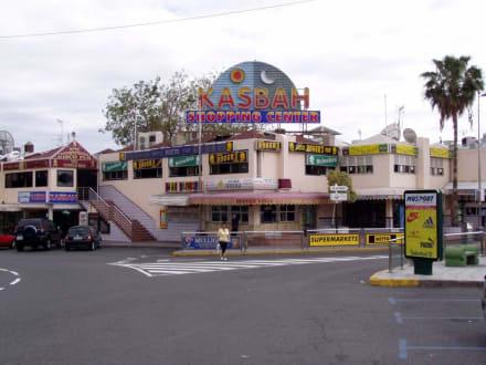 Kasbah Eingang - Centro Comercial Kasbah