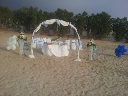 Wedding on beach -