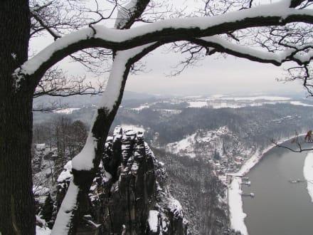 Blick von der Bastei - Bastei
