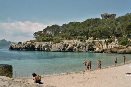 Strand in der Nähe vom Hotel Capricho - Cala Gat