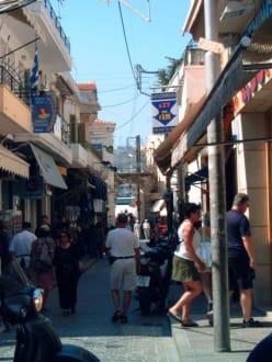 Gasse in der Altstadt Rethymnons - Altstadt Rethymno