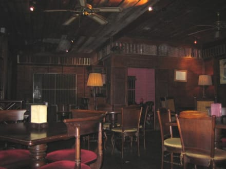 Im 1. OG vom Balkon aus fotografiert. - Restaurant Monsoon
