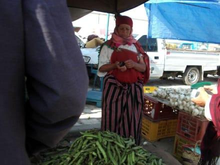 Wochenmarkt! - Le Nomade (Berbertour)